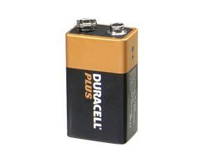9 V-Blockbatterie DURACELL PLUS