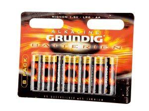 Mignon-Batterie-Set GRUNDIG Alkaline