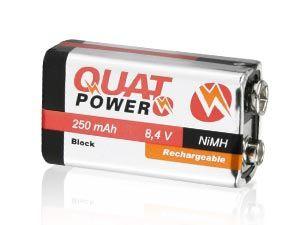 9 V-Block-NiMH-Akku QuatPower