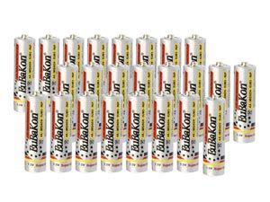 Mignon-Batterieset EuBaKon