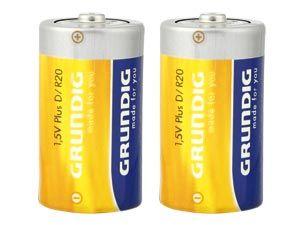Mono-Batterie-Set GRUNDIG Plus