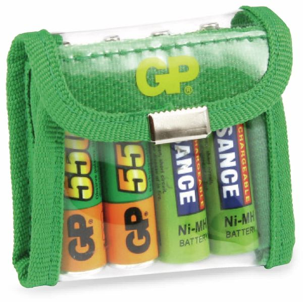 Akku-/Batterietasche