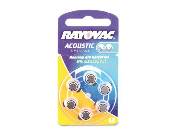 Hörgeräte-Batterien ZA13/HA13, RAYOVAC/VARTA