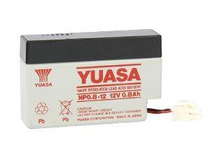 Blei-Akkumulator YUASA NP0.8-12