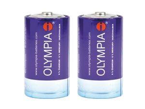 Mono-Batterieset OLYMPIA Xtreme