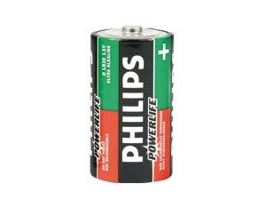 Mono-Batterieset PHILIPS Powerlife, 4 Stück