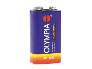 9V-Blockbatterien