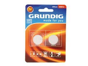 Lithium Knopfzelle Grundig CR2016