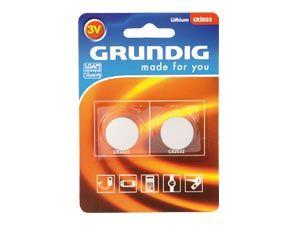 Lithium Knopfzelle Grundig CR2032