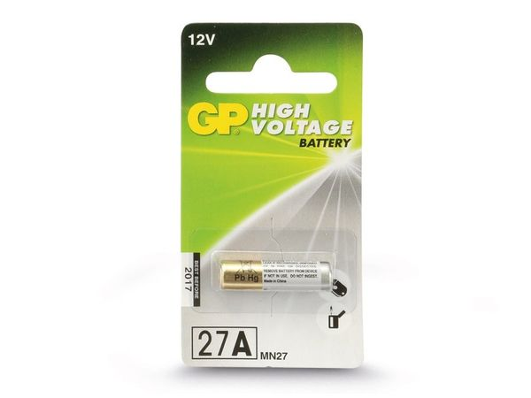 12 V-Batterie 27A, Alkaline - Produktbild 2