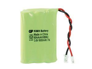 NiMH-Akku-Pack 3,6V/600mAh