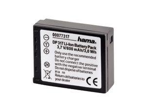 Li-Ion-Akku HAMA DP317 (Panasonic)
