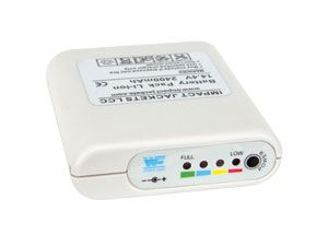 LiIon-Akkupack mit LED-Anzeige, 14,4 V-/2400 mAh - Produktbild 1