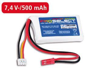 LiPo-Akku ProSelect Master Edition 30C+/60C 2S1P - Produktbild 1