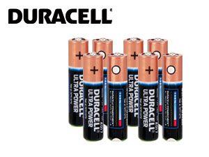 DURACELL ULTRA POWER Micro-Batterieset, 8 Stück - Produktbild 1