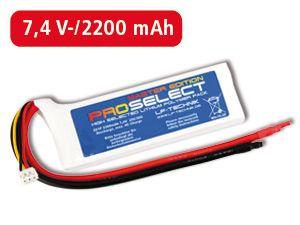 LiPo-Akku ProSelect Master Edition 25C/50C 2S1P