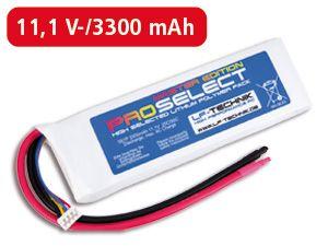 LiPo-Akku ProSelect Master Edition 25C/50C 3S1P
