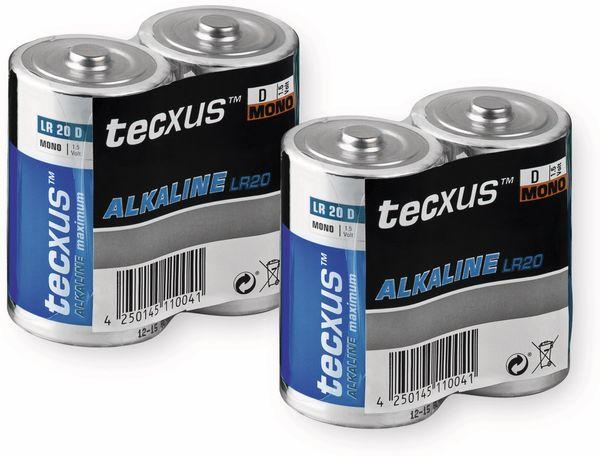 Mono-Batterie-Set Tecxus Alkaline, 2 Stück