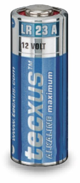 12V-Batterie LR23A Tecxus Alkaline - Produktbild 1