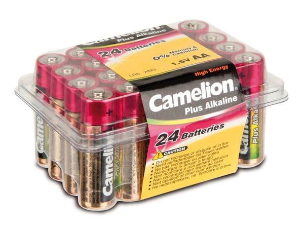 Mignon-Batteriebox CAMELION Plus Alkaline