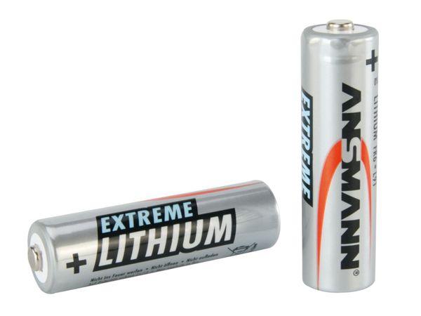 Mignon-Batterie ANSMANN Extreme Lithium, 2 Stück