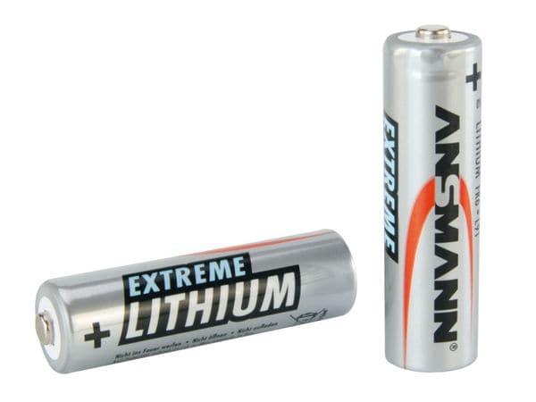 Micro-Batterie ANSMANN Extreme Lithium, 2 Stück