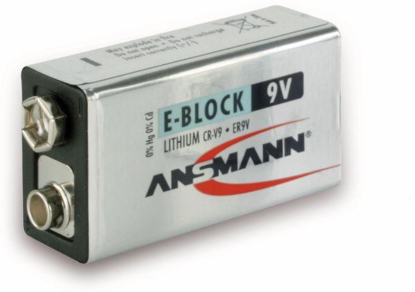 9V-Block ANSMANN Extreme Lithium