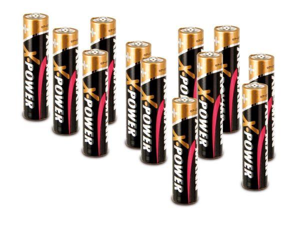 Micro-Batterie ANSMANN, 12 Stück