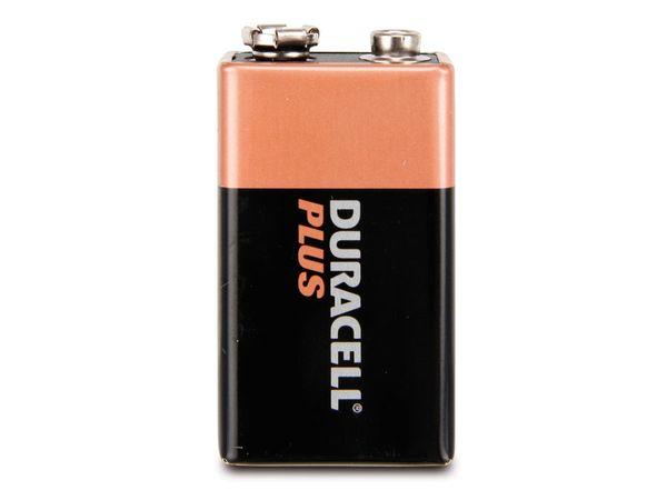 9 V-Blockbatterie DURACELL PLUS, 2 Stück