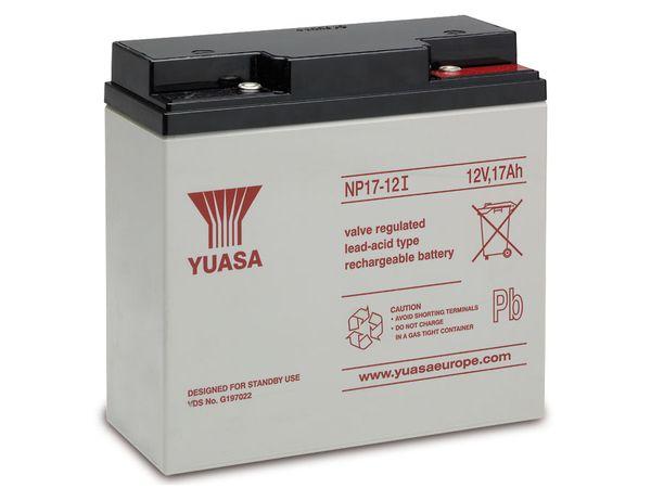 Blei-Akkumulator YUASA NP17-12I, 12 V-/17 Ah