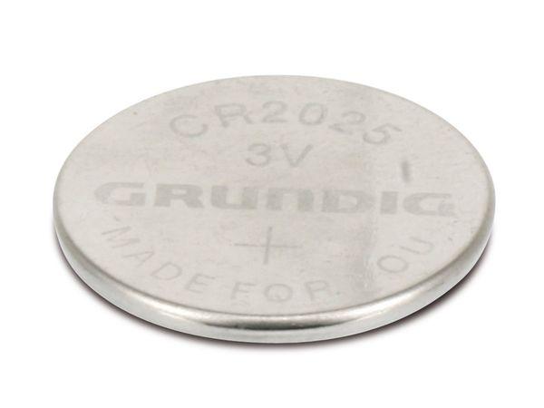 Lithium Knopfzelle GRUNDIG CR2025 - Produktbild 1