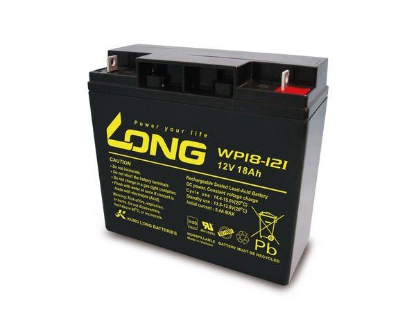 Blei-Akkumulator KUNG LONG WP18-12I, 12 V-/18 Ah - Produktbild 1