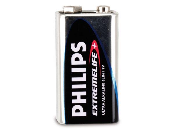 9 V-Blockbatterie PHILIPS EXTREMELIFE+