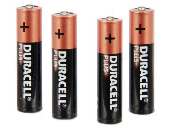 Micro-Batterie-Set DURACELL PLUS - Produktbild 1