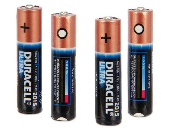 Micro-Batterie-Set DURACELL ULTRA - Produktbild 1