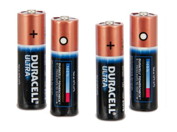 Mignon-Batterie-Set DURACELL ULTRA - Produktbild 1