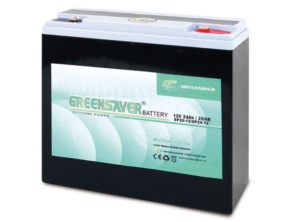 Blei-Silikon Akkumulator GREENSAVER SP24-12 (SP20-12)