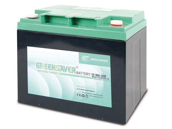 Blei-Silikon Akkumulator GREENSAVER SP50-12 (SP36-12)