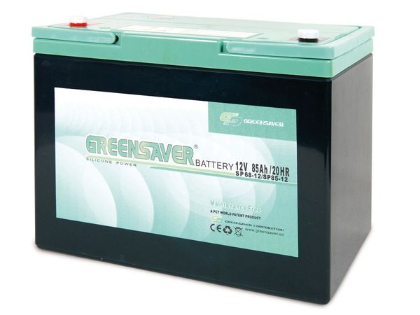 Blei-Silikon Akkumulator GREENSAVER SP85-12 (SP68-12)