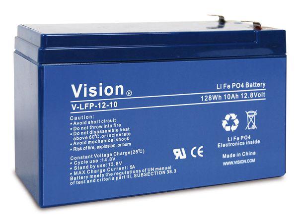 LiFePO4 Akku VISION LFP1210, 12 V-/10 Ah