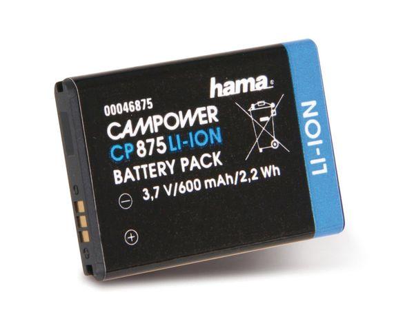Kamera-Akku HAMA, passend für SAMSUNG IA-BP90A - Produktbild 1