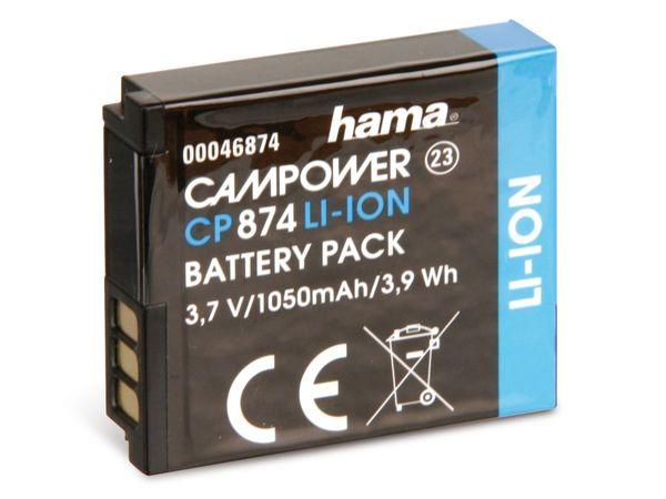 Kamera-Akku HAMA, passend für SAMSUNG IA-BP125A
