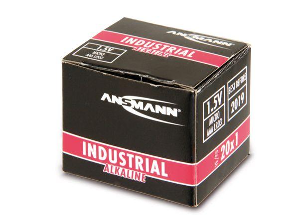 Micro-Batterien ANSMANN INDUSTRIAL, 20 Stück - Produktbild 2