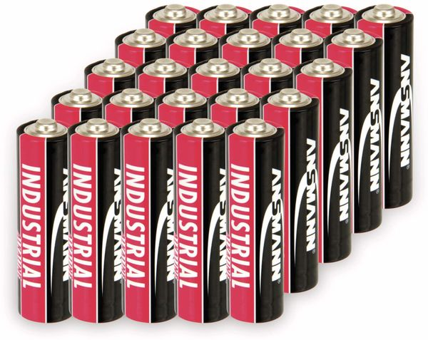Mignon-Batterien ANSMANN INDUSTRIAL, 20 Stück