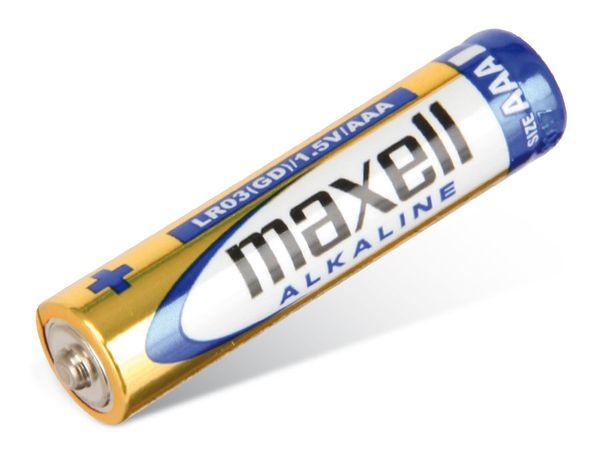 Micro-Batterien MAXELL, Alkaline, 10 Stück