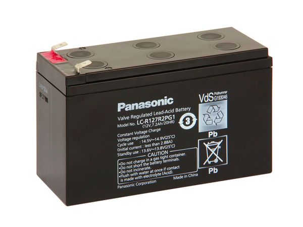 Bleiakkumulator PANASONIC LC-R127R2PG1