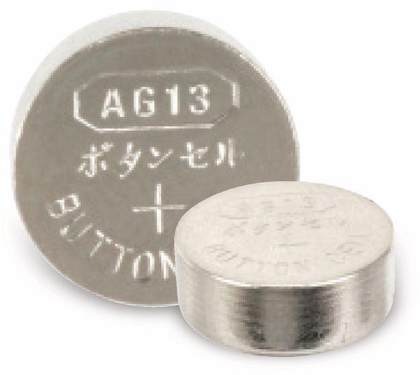 Alkaline-Knopfzelle QUATPOWER, 10 Stück