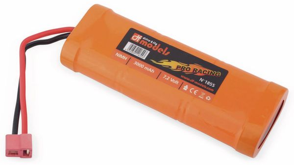 NiMH-Racingpack PRO RACING, 7,2 V-/3000 mAh - Produktbild 1