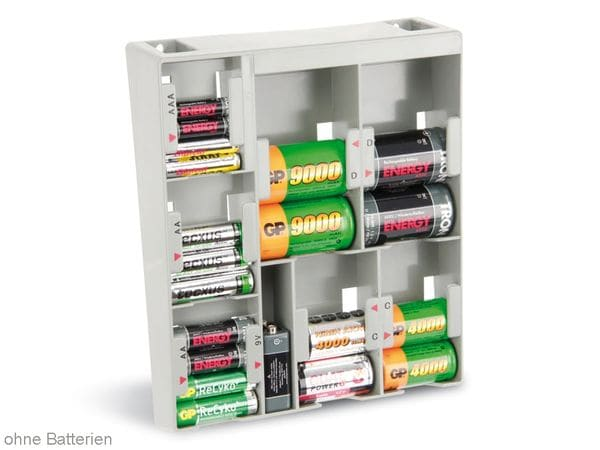 Batterie-Organizer für Wandmontage - Produktbild 1