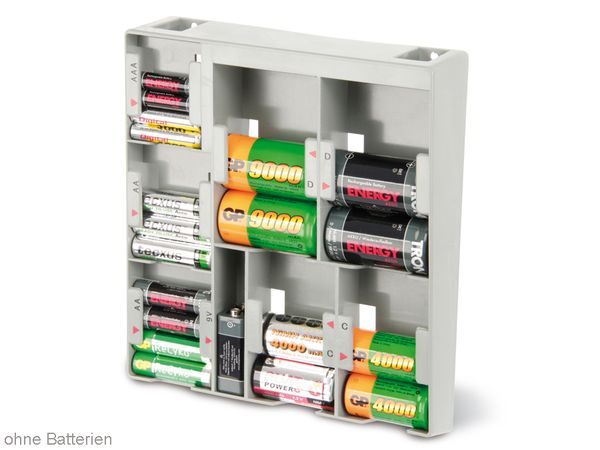 Batterie-Organizer für Wandmontage - Produktbild 2
